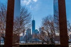 9/11 de Jersey City memorável, NJ Imagem de Stock