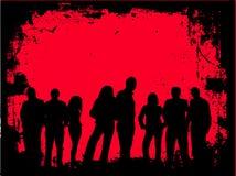 De jeugd van Grunge royalty-vrije illustratie