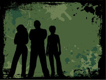 De jeugd van Grunge Royalty-vrije Stock Afbeeldingen