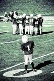 de jeugd voetbal Stock Fotografie