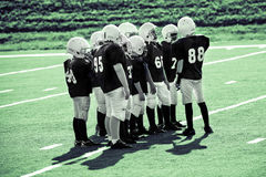 de jeugd voetbal Royalty-vrije Stock Foto