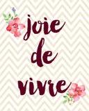 de joie vivre Στοκ εικόνα με δικαίωμα ελεύθερης χρήσης