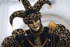 De joker van Carnaval Stock Foto's