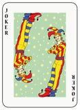 De Joker van Duoble Royalty-vrije Stock Afbeelding