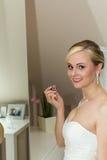 De jonge bruid Royalty-vrije Stock Afbeeldingen