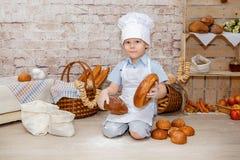De jonge chef-kok Royalty-vrije Stock Afbeelding