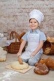 De jonge chef-kok Stock Afbeelding