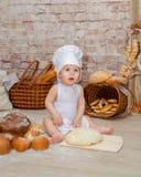 De jonge chef-kok Stock Afbeeldingen