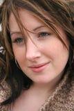 De jonge Close-up van de Vrouw royalty-vrije stock foto's