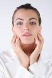De jonge close-up van de Vrouwenmannequin Stock Foto