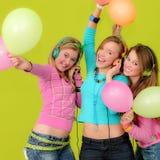 De jonge geitjes of de tienerjaren van de partij Royalty-vrije Stock Foto's