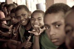 De jonge geitjes van de school Stock Foto's