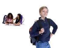 De Jonge geitjes van de school Stock Foto