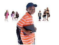 De Jonge geitjes van de school Royalty-vrije Stock Foto