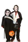 De Jonge geitjes van Halloween - Monsters stock afbeeldingen