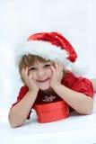 De jonge geitjes van Kerstmis Royalty-vrije Stock Foto