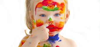 De jonge kunstenaar Royalty-vrije Stock Foto