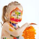 De jonge kunstenaar Stock Foto