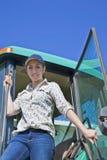 De jonge Landbouwer van de Vrouw Royalty-vrije Stock Afbeelding