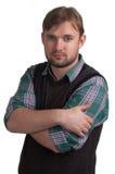 De jonge mens van ?onfident Stock Fotografie