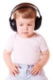 De jonge Minnaar van de Muziek royalty-vrije stock foto