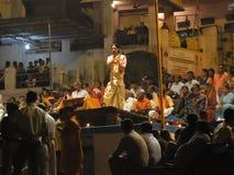 De jonge priesters van de Brahmaan Stock Foto's