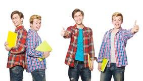 De jonge student royalty-vrije stock fotografie