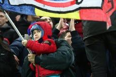 De Media van FC Steaua Boekarest FC Gaz Metan Stock Foto