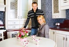 De jonge volwassene van de familie royalty-vrije stock foto's