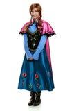 De jonge Vrouw kleedde zich in Kostuum stock afbeelding