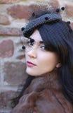 De jonge vrouw van Beauiful Stock Foto