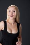 De jonge Vrouw van de Blonde Stock Fotografie