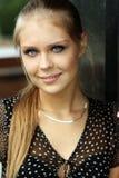 De jonge vrouw van de blonde Royalty-vrije Stock Afbeelding