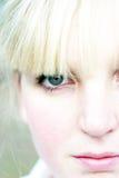 De jonge vrouw van de close-up Royalty-vrije Stock Foto's