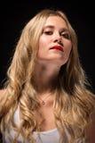 De Jonge Vrouw van de luxe Royalty-vrije Stock Foto's