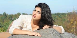 De jonge Vrouw van Latina Royalty-vrije Stock Foto