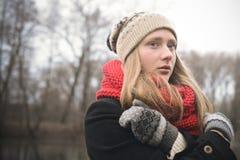 De jonge vrouw van Nice Royalty-vrije Stock Foto's
