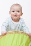 De jongen van de baby kruipt Royalty-vrije Stock Afbeeldingen