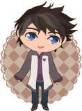De jongen van Anime royalty-vrije stock afbeelding