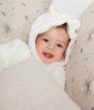 de jongen van de 1 éénjarigebaby Stock Foto's