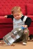 De jongen van de baby Stock Fotografie