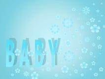 De jongen van de baby Stock Foto's