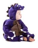 De jongen van de baby in kostuum Stock Afbeelding