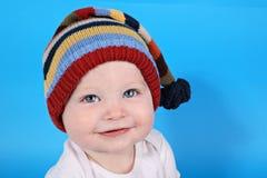 De jongen van de baby met hoed Royalty-vrije Stock Afbeelding