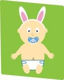 De Jongen van de Baby van Pasen royalty-vrije illustratie