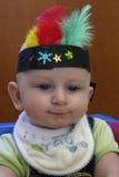 De jongen van de dankzegging Stock Fotografie