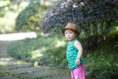 De jongen van de de zomerbaby royalty-vrije stock fotografie