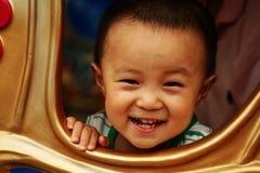 De Jongen van de glimlach royalty-vrije stock afbeeldingen
