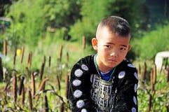 De jongen van de heuvelstam Royalty-vrije Stock Foto