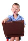 De jongen van de lage school Stock Afbeelding